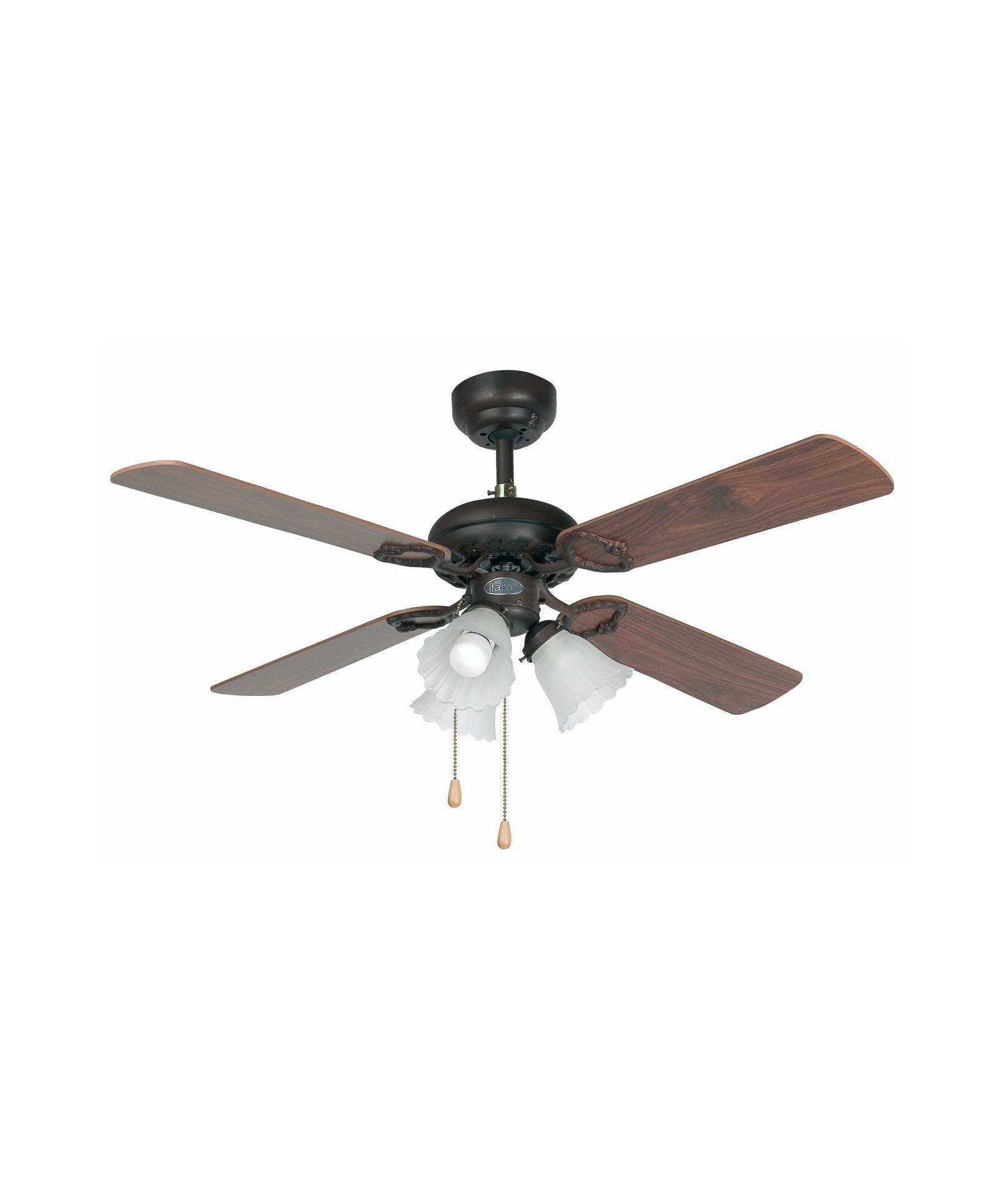 Ventilador de techo marrón LISBOA