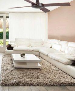 Ventilador de techo marrón MALLORCA ambiente