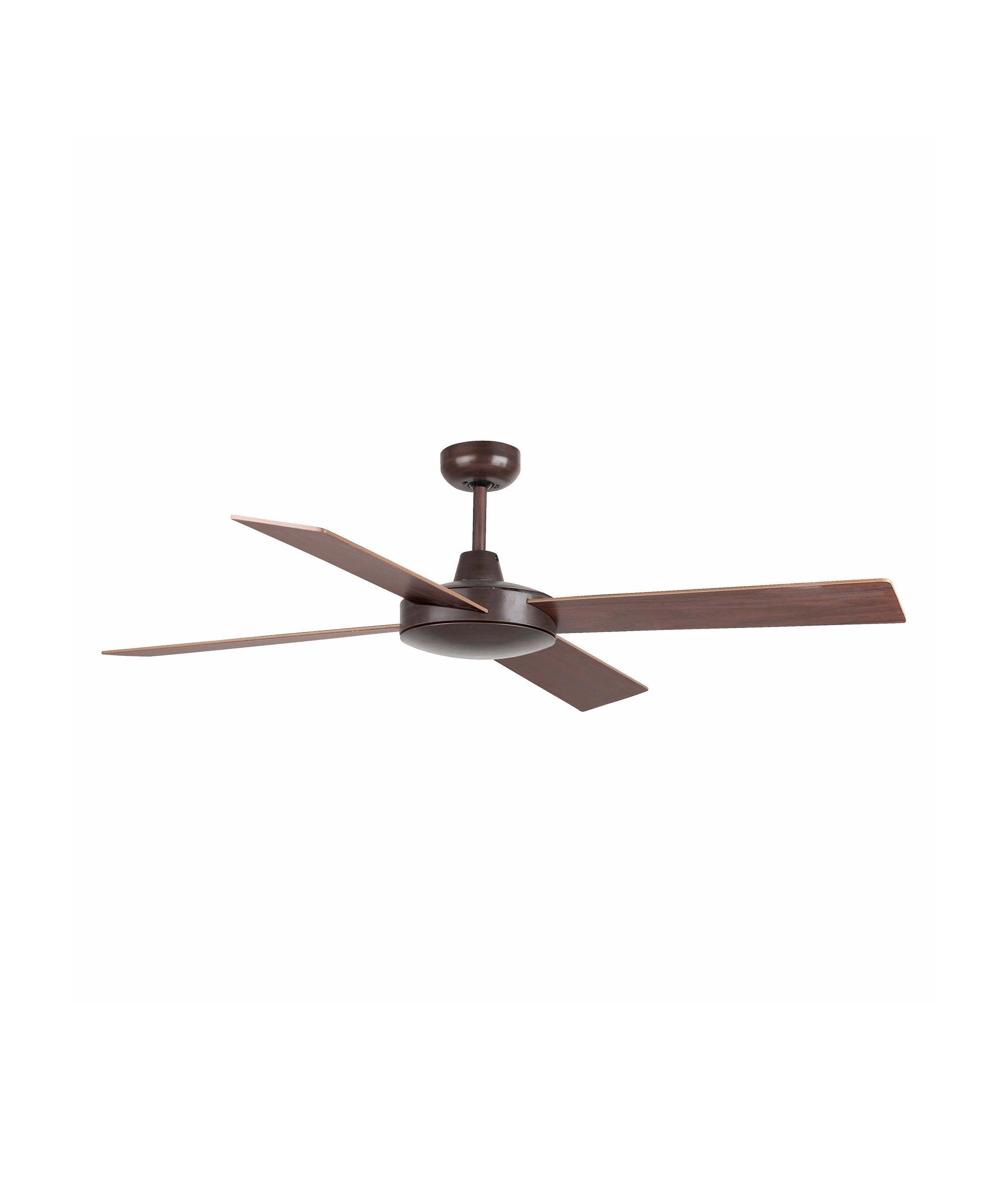 Ventilador de techo marrón MALLORCA