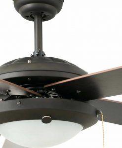 Ventilador de techo marrón MANILA detalle