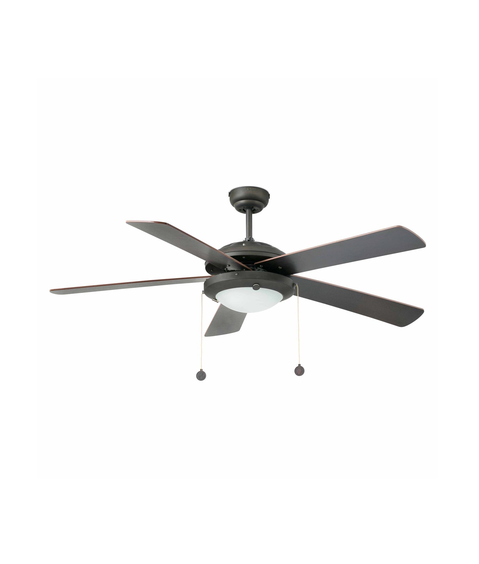 Ventilador de techo marr n manila la casa de la l mpara - Lampara ventilador de techo ...