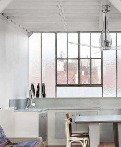 Ventilador de techo transparente ETERFAN ambiente
