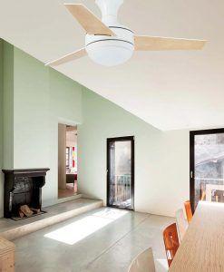 Ventilador techo blanco MINI UFO ambiente