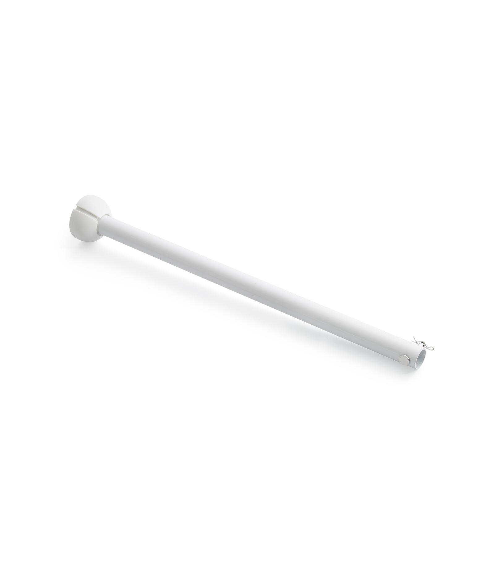 Barra accesorio 40 cm blanca