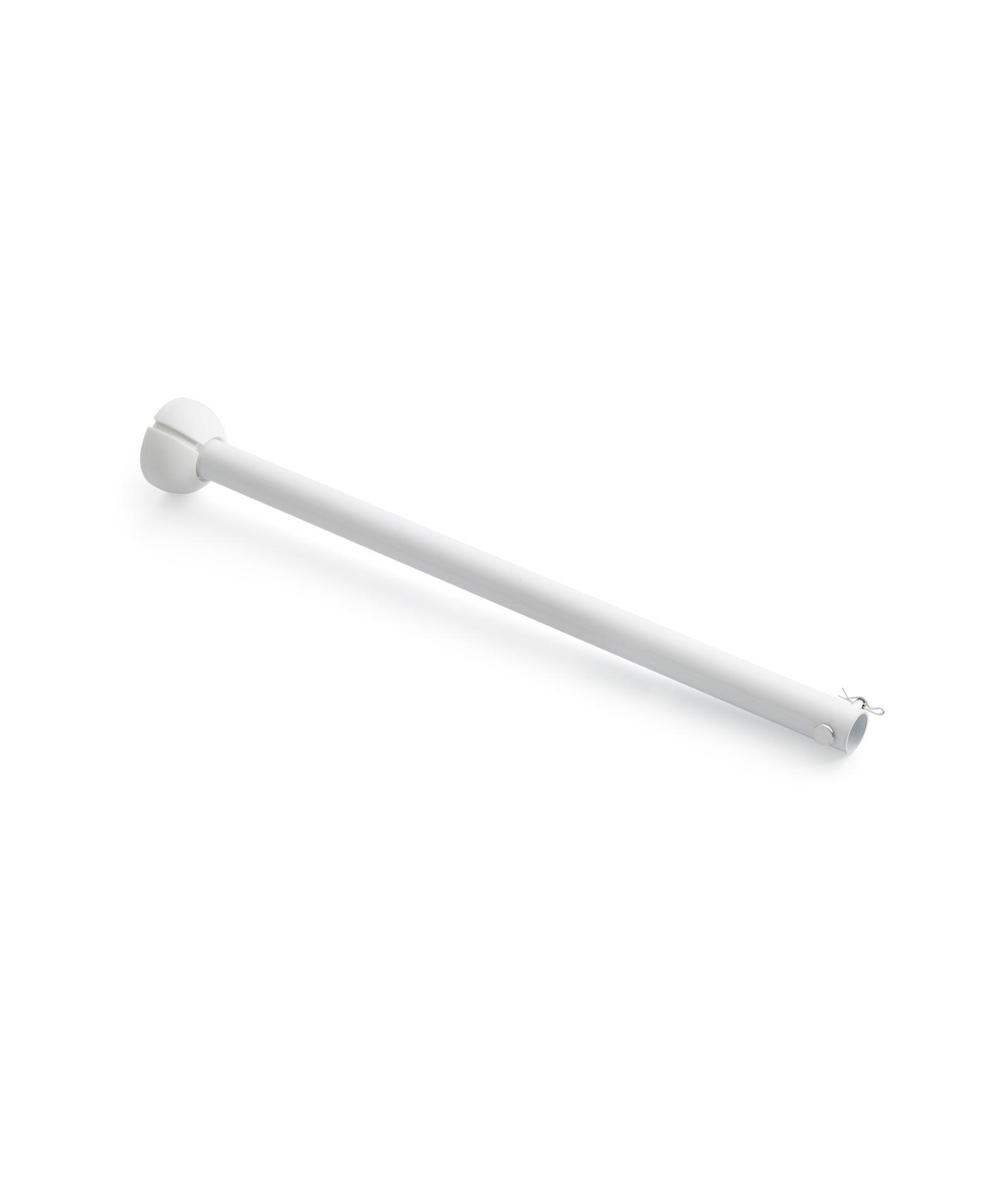 Barra accesorio 50 cm blanca