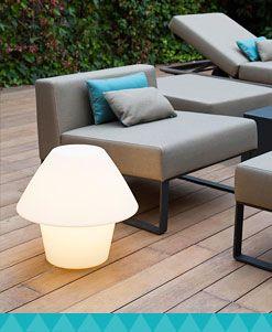 Lámparas de mesa exterior