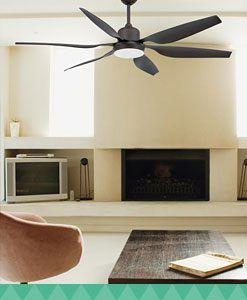 Ventiladores de techo con mando a distancia - Ventiladores de techo de diseno ...