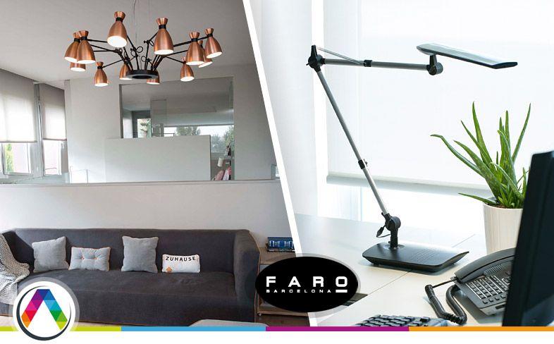 Lámpara diseño FARO Barcelona - La Casa de la Lámpara