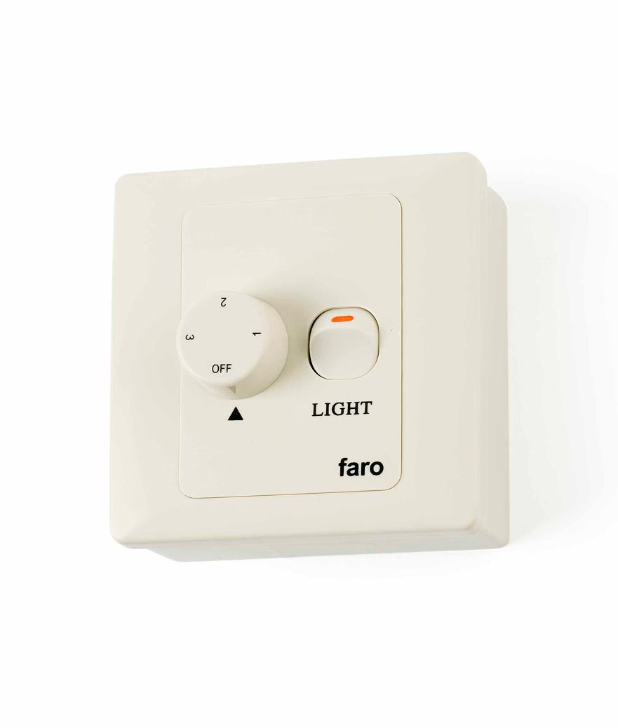Regulador de pared FARO para ventiladores