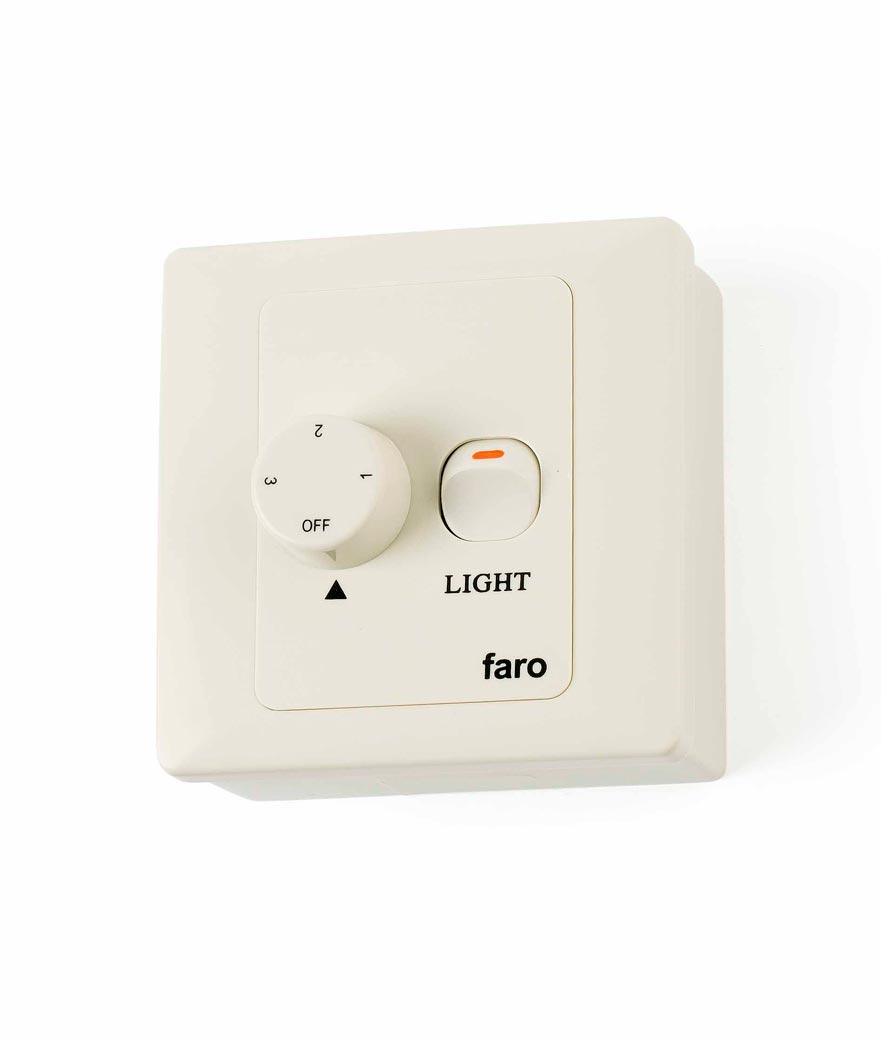 Regulador de pared FARO para ventiladores