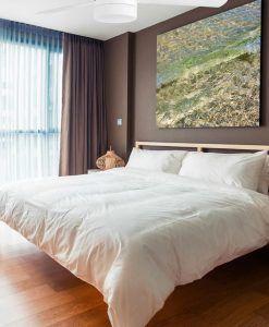 Ventilador de techo blanco PANAY ambiente