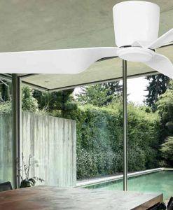 Ventilador de techo blanco PEMBA ambiente