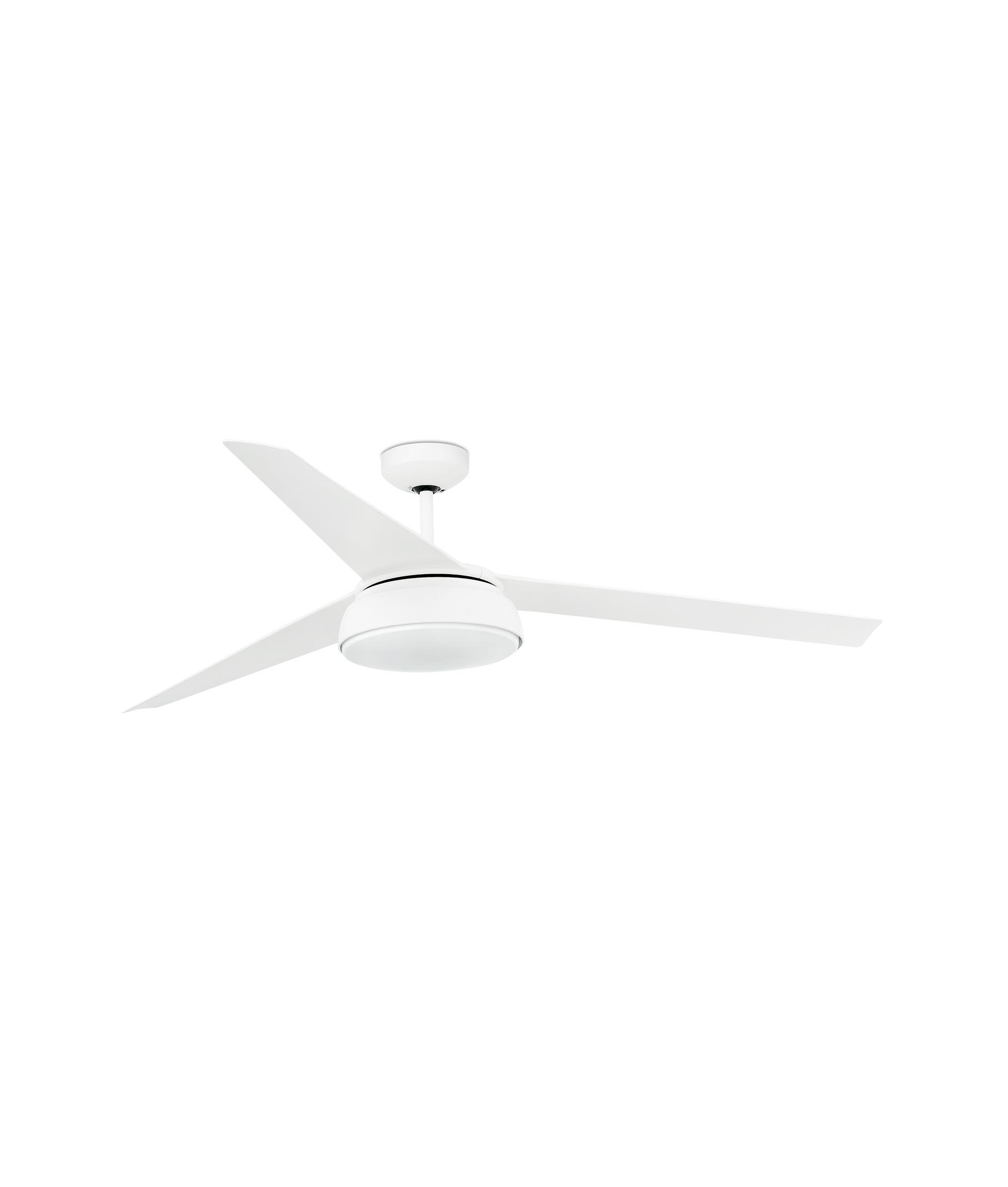 Ventilador de techo LED blanco VULCANO