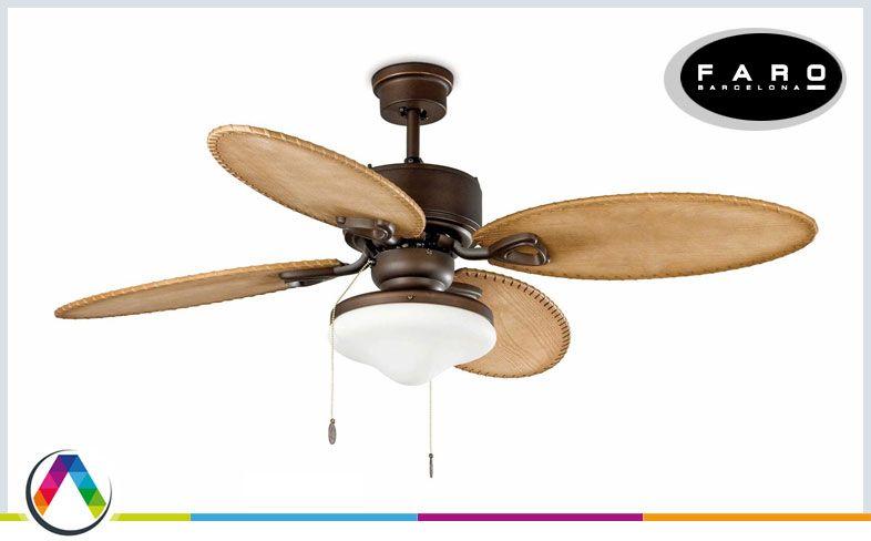 El ventilador ideal para tu casa la casa de la l mpara - Lamparas de techo con ventilador ...