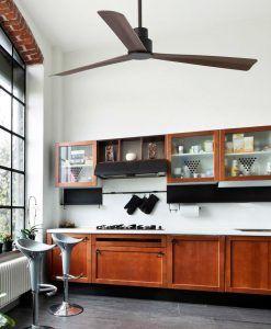 Ventilador de techo marrón NASSAU ambiente