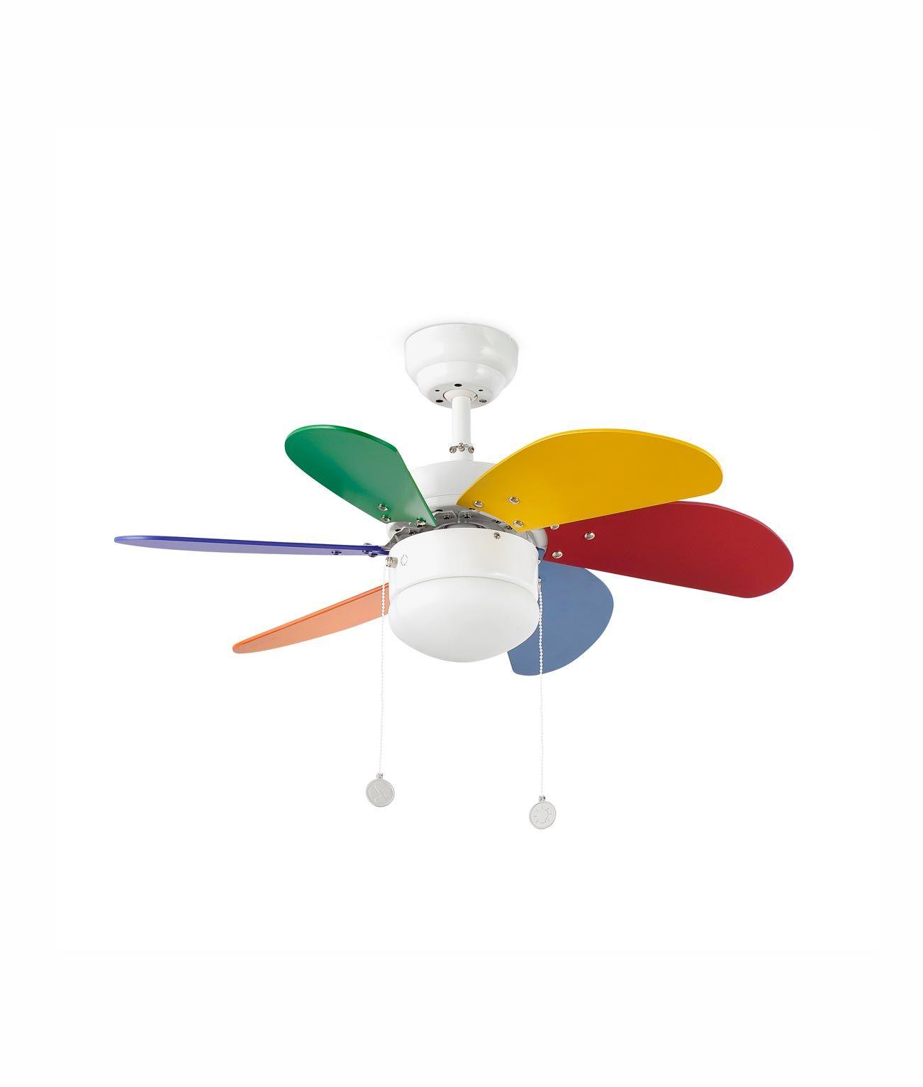 Ventilador de techo multicolor PALAO