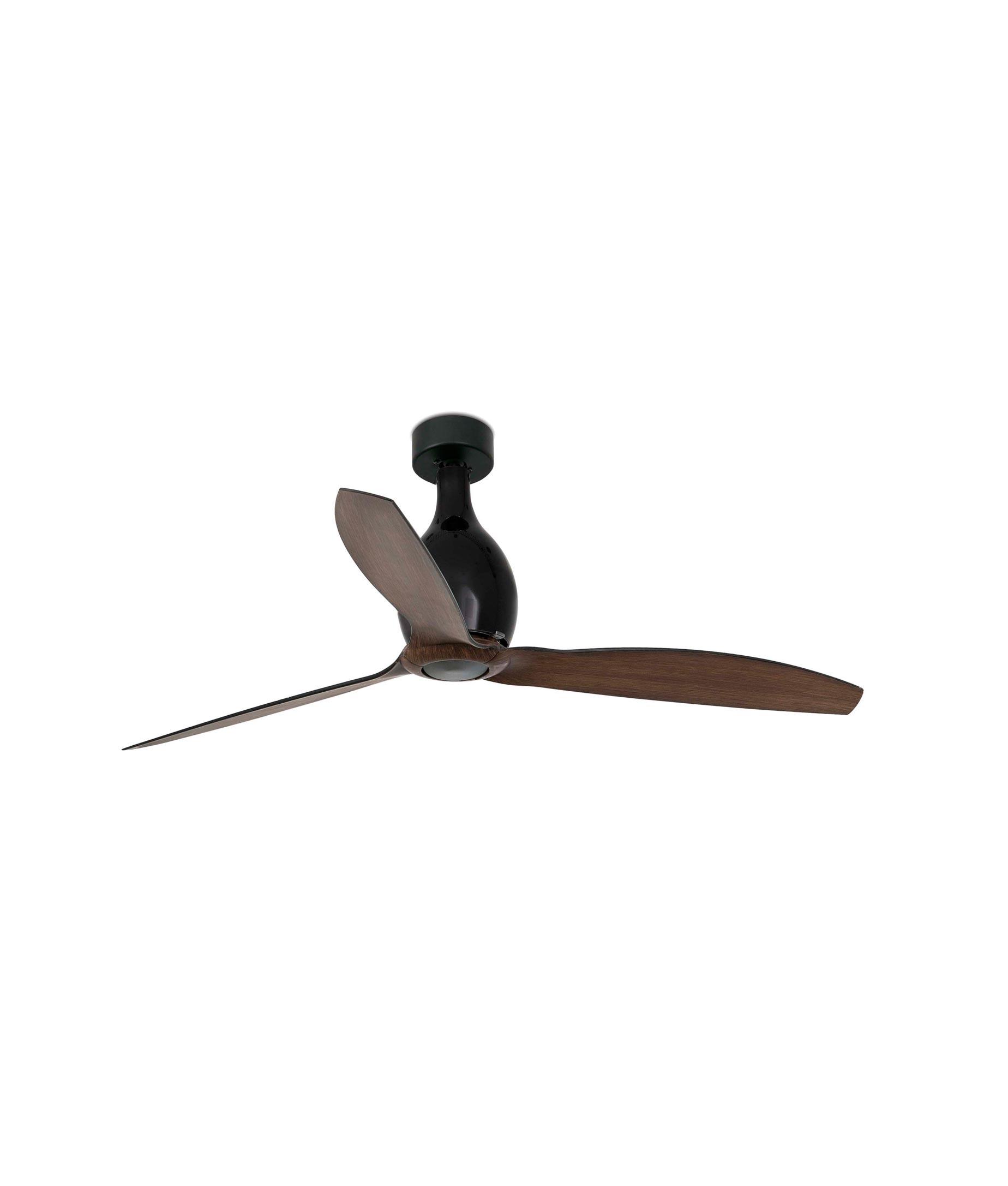 Ventilador de techo negro madera MINI ETERFAN