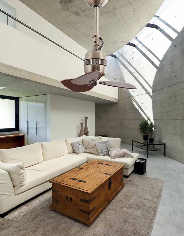 Ventilador de techo oro VEDRA ambiente