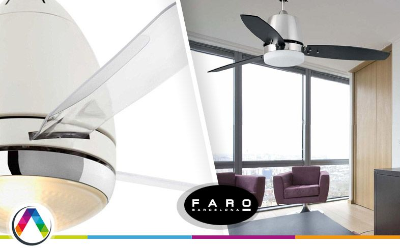 Ventiladores diseño FARO - La Casa de la Lámpara