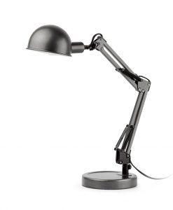 Lámpara flexo gris BAOBAB