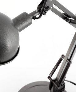 Lámpara flexo gris BAOBAB detalle