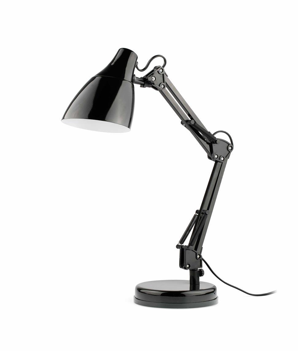 Lámpara flexo negra GRU