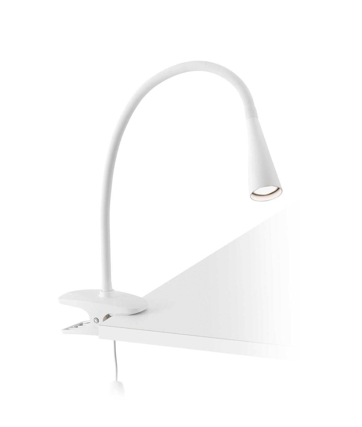 Lámpara pinza blanca LENA LED