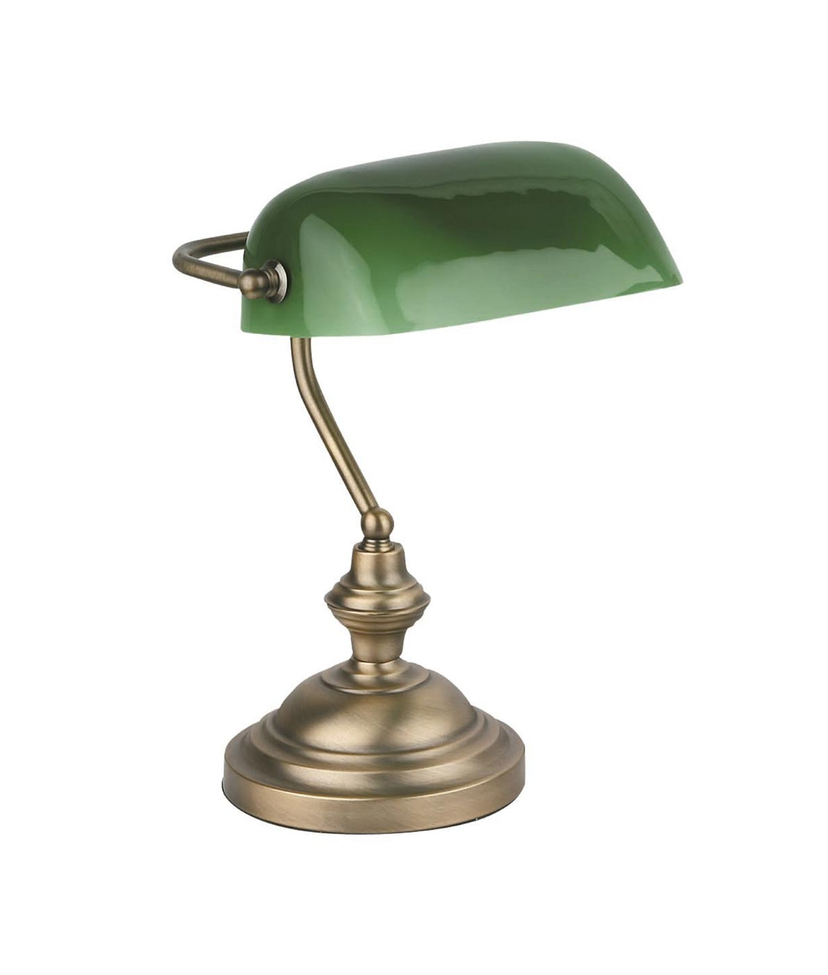 Lámpara sobremesa bronce BANKER