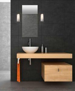 Aplique de baño 1 luz DOKA cromo ambiente