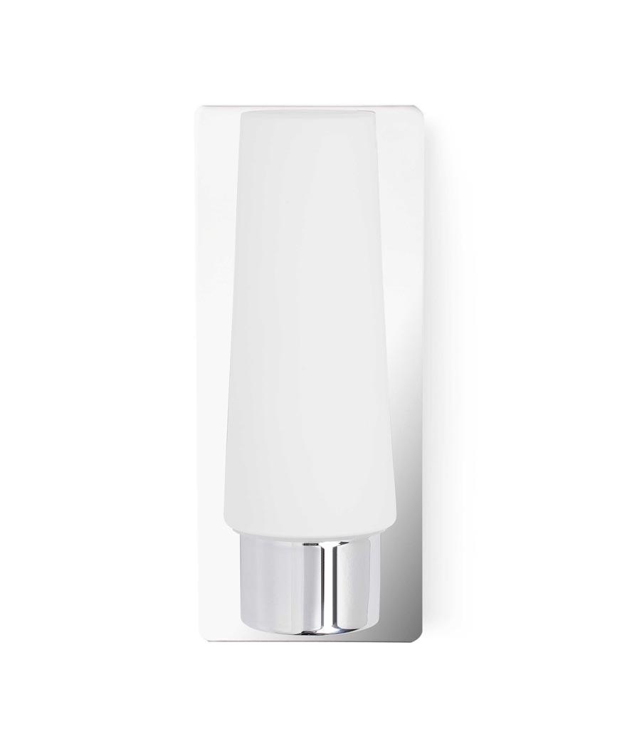 Aplique de baño 1 luz DOKA cromo
