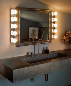 Aplique espejo 5 luces LASS ambiente