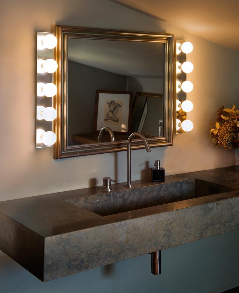 Aplique espejo 5 luces lass la casa de la l mpara - Espejos con luces ...