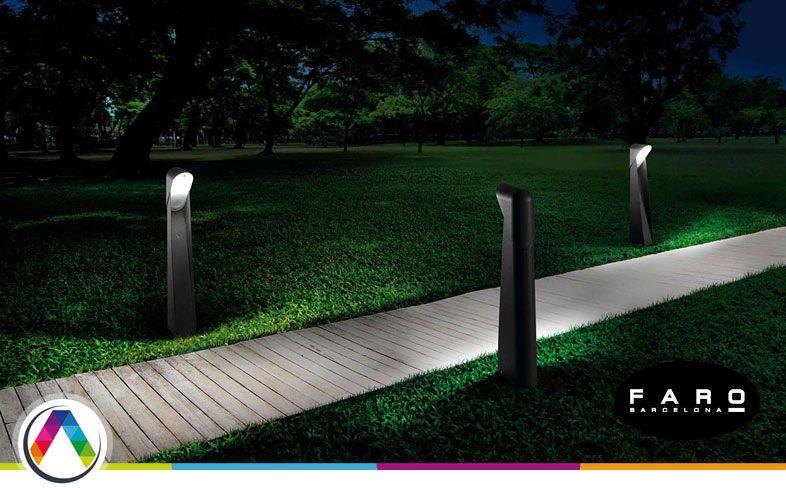Lámparas baliza para la iluminación de exteriores que puedes encontrar en La Casa de la Lámpara