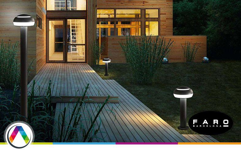 Lámparas para la iluminación led exterior que puedes encontrar en La Casa de la Lámpara