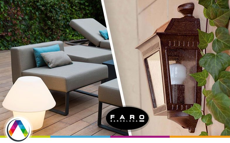 Tipos de lámparas para la iluminación de exterior en La Casa de la Lámpara