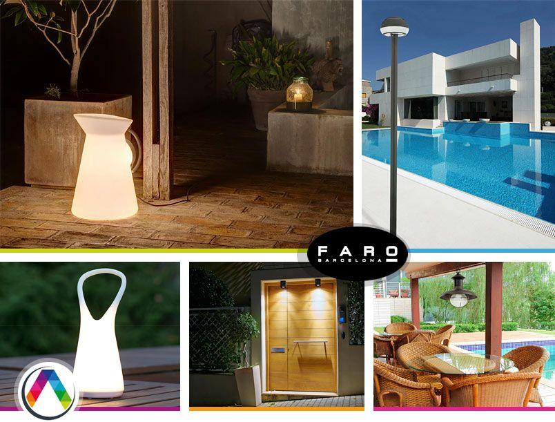 Consejos para la iluminaci n led exterior la casa de la for Iluminacion de exterior solar