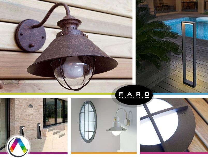 5eefdf96baf Consejos para la iluminación de exteriores de La Casa de la Lámpara
