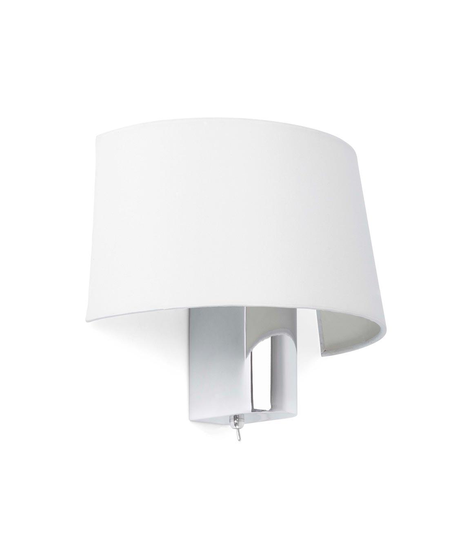 Lámpara aplique blanca HOTEL