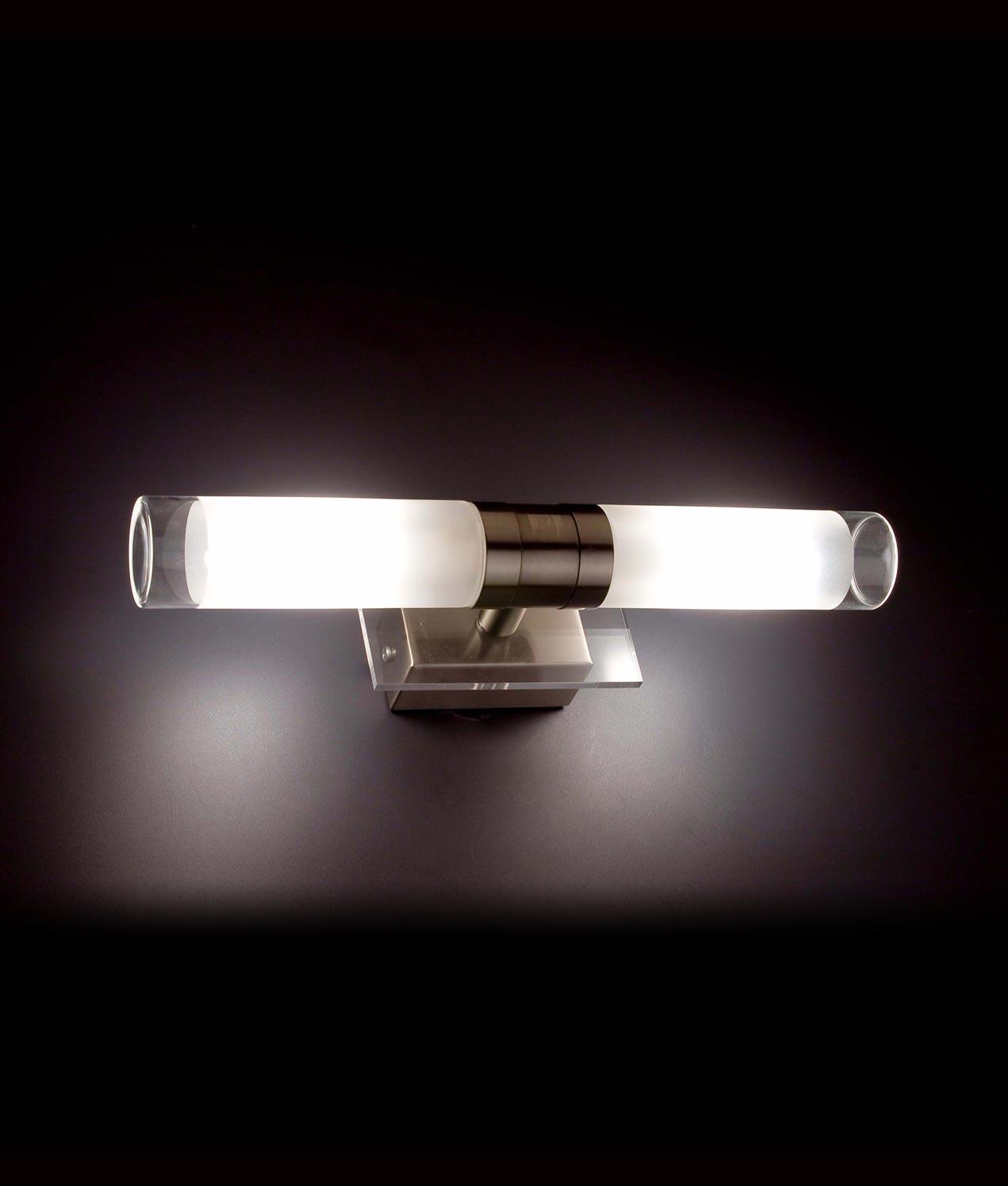 Lámpara aplique NIGER níquel ambiente