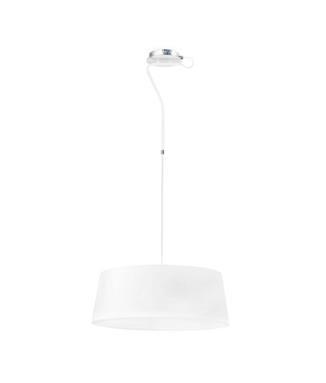 Lámpara colgante blanca HOTEL