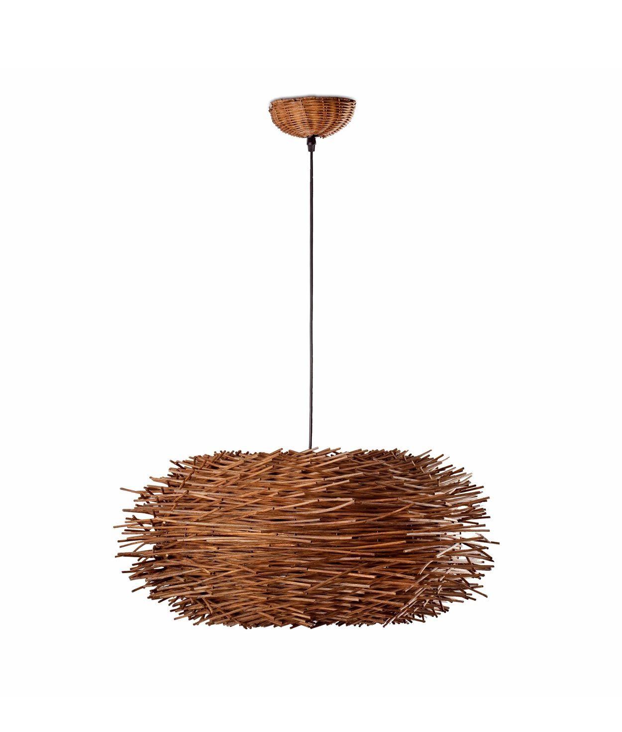 Lámpara colgante marrón NIDO
