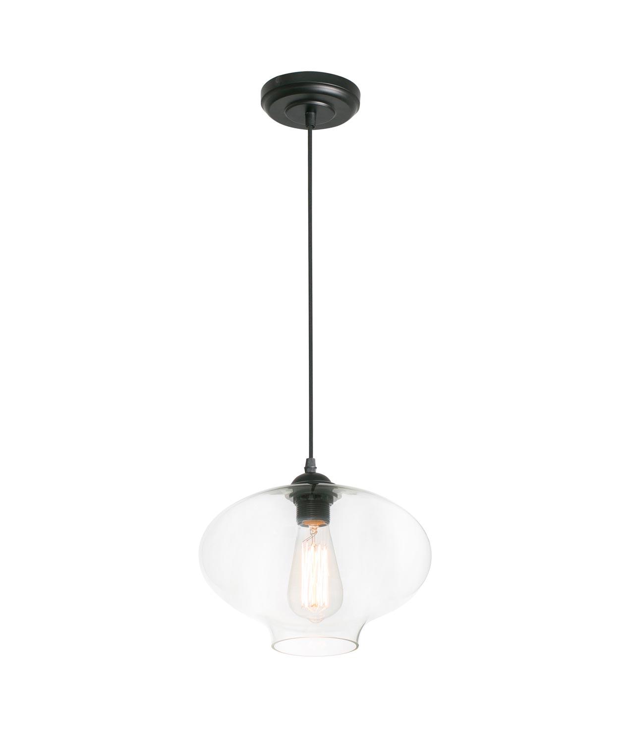 Lámpara colgante transparente ALMA
