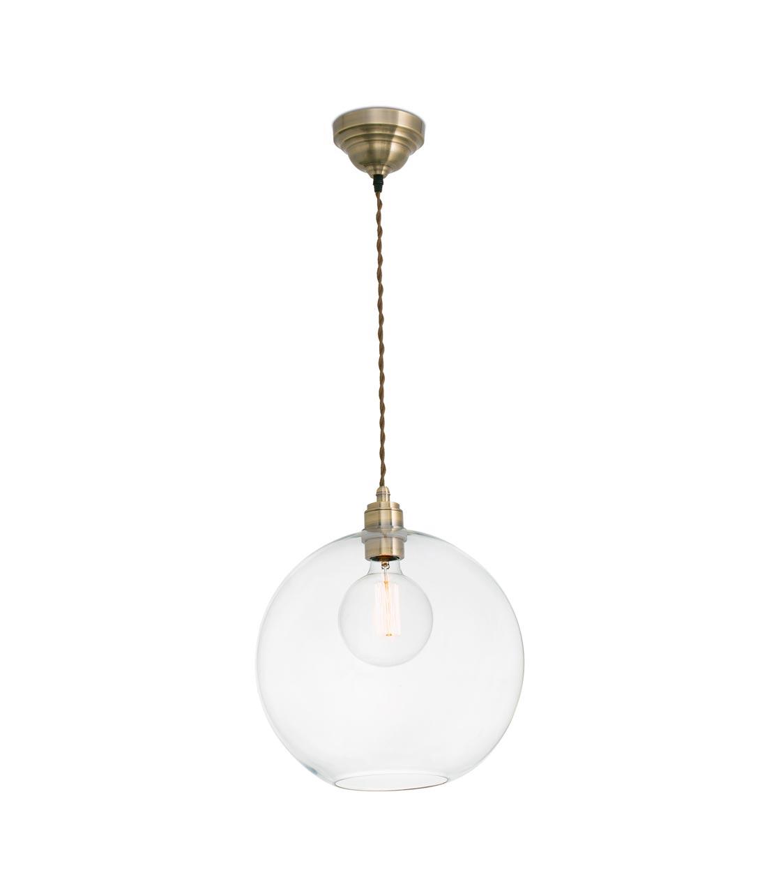 Lámpara colgante transparente ERMA