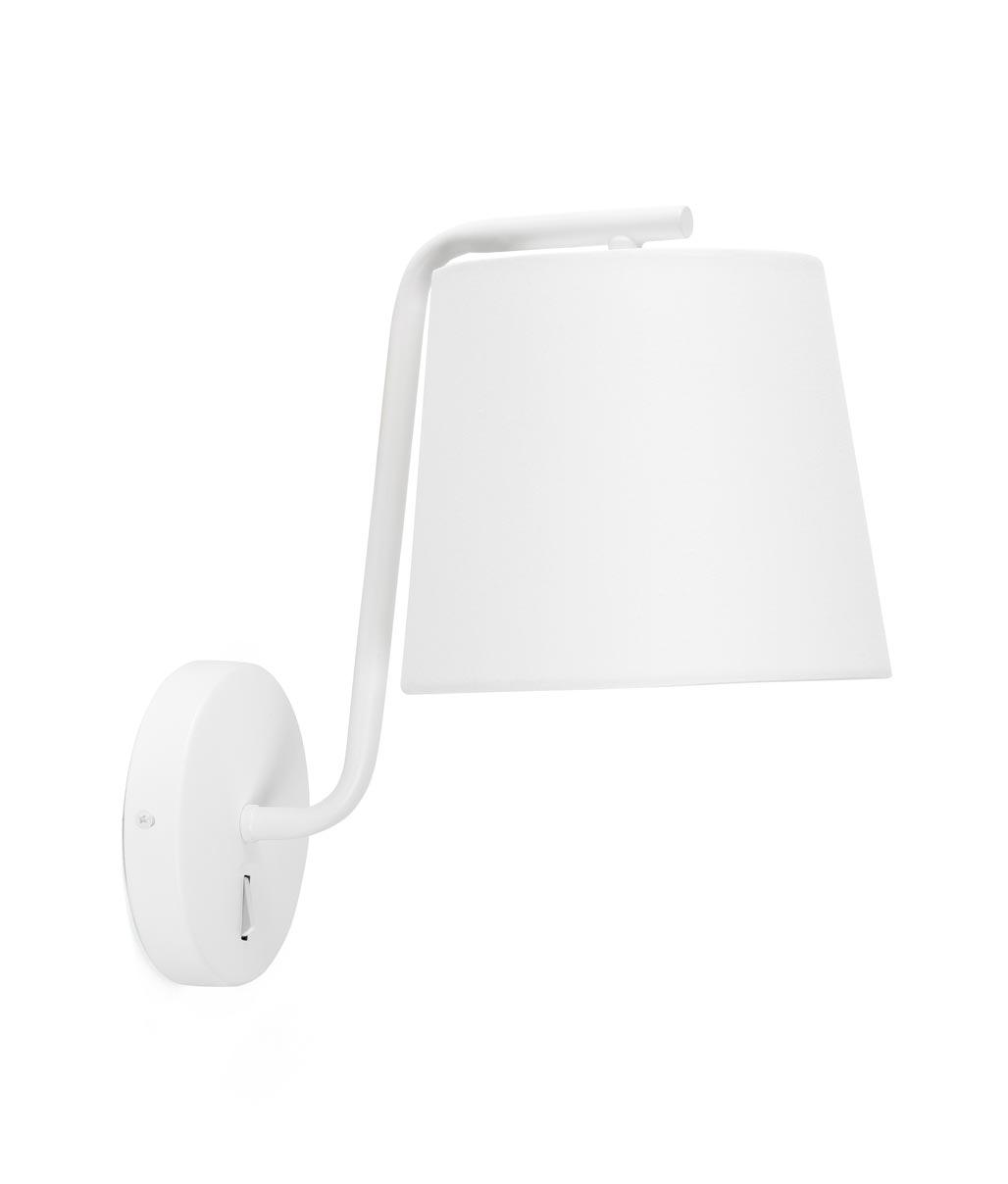 Lámpara de pared blanca BERNI detalle