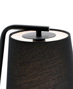 Lámpara de pared negra BERNI detalle