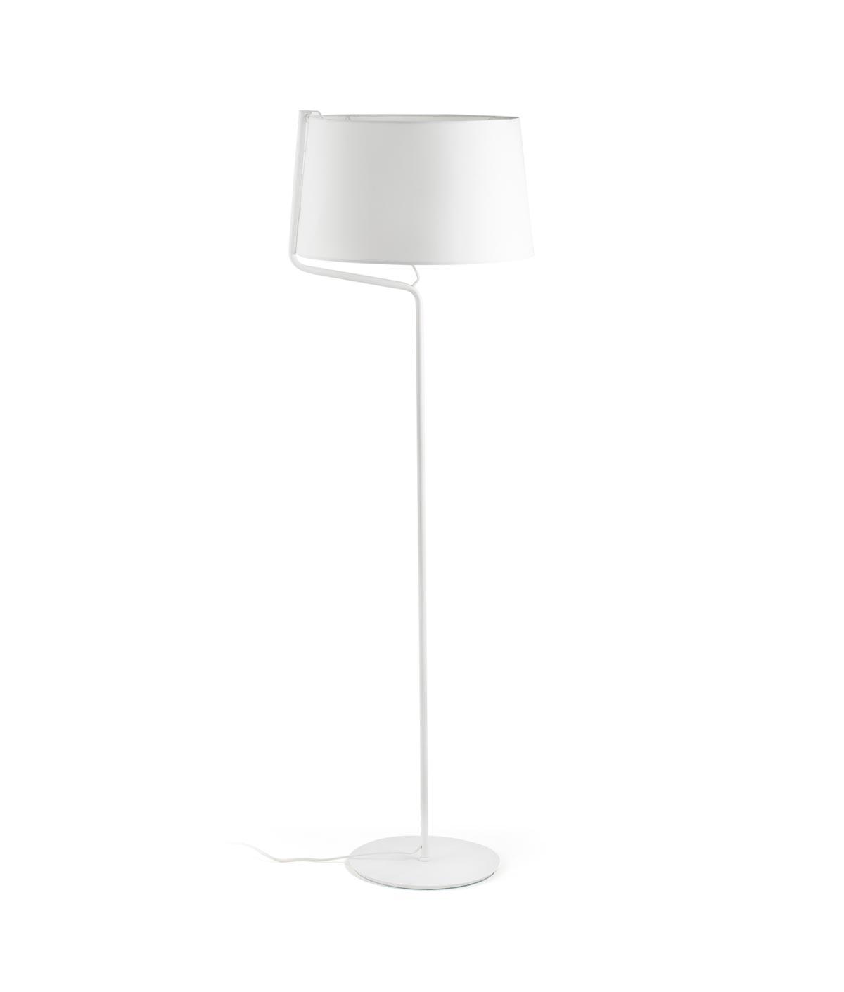 Lámpara de pie blanca BERNI