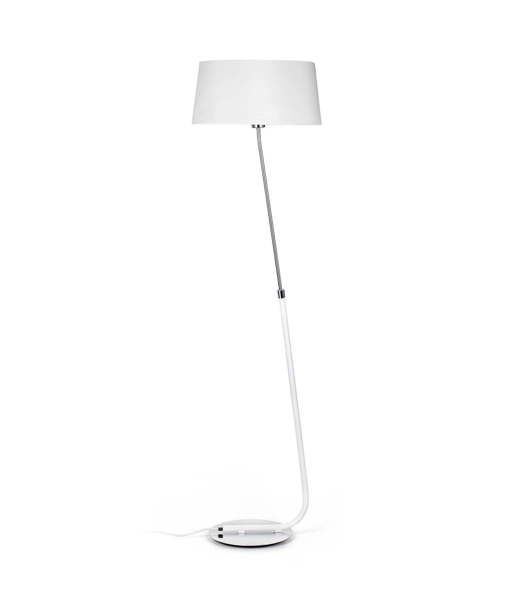 Lámpara de pie blanca HOTEL