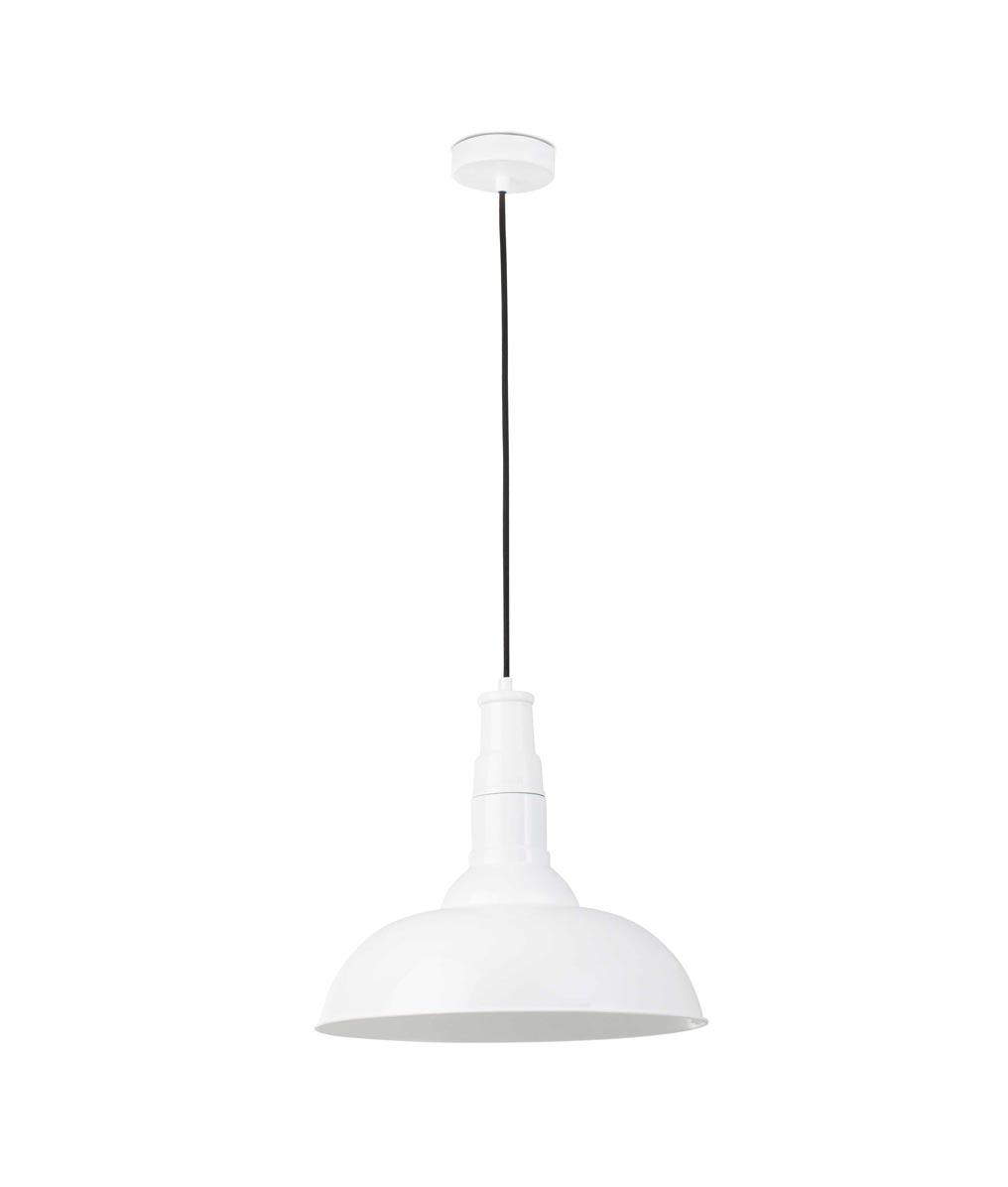 Lámpara de techo BAR blanca