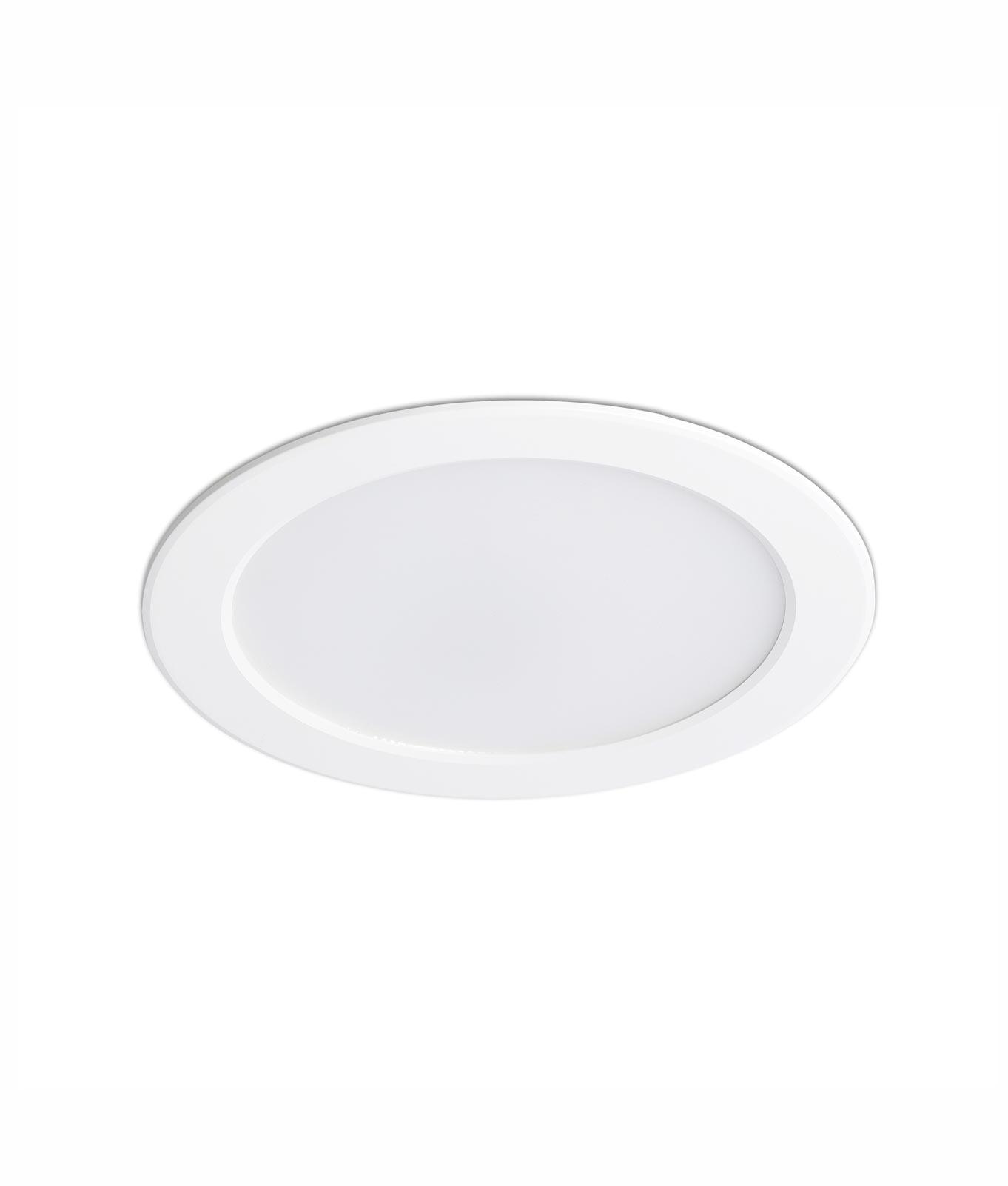 Lámpara empotrable LED TED blanca
