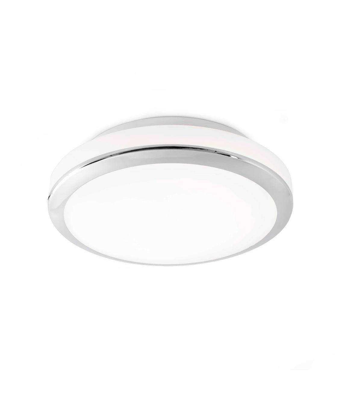 Lámpara plafón LED CLOE cromo